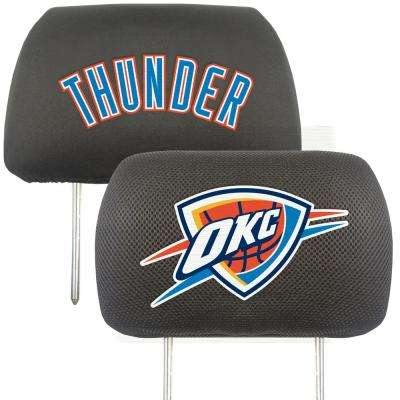NBA - Oklahoma City Thunder Mesh 13 in. x 10 in. Head Rest Cover