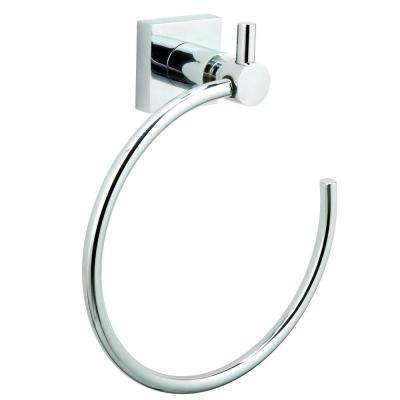 Hukk Towel Ring in Chrome