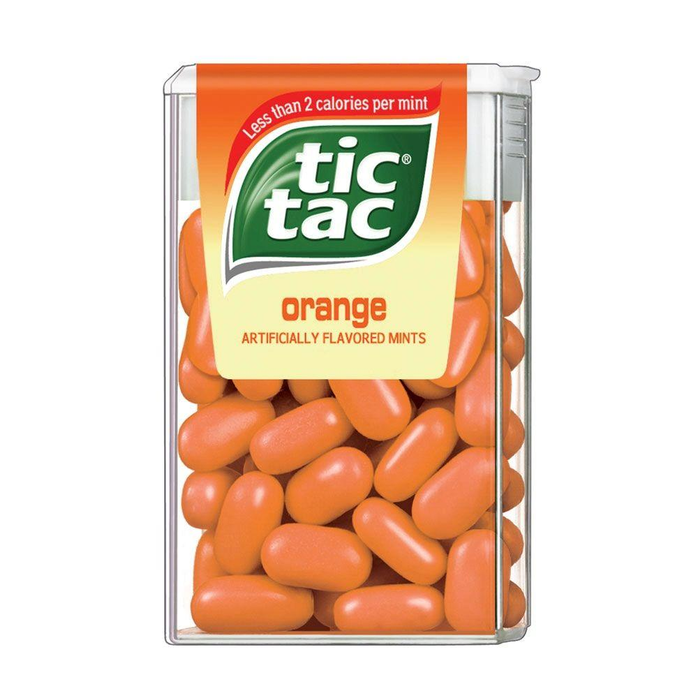 Upc 009800057733 tic tacs candy big pack orange 60 pcs - Tac tic leroy ...