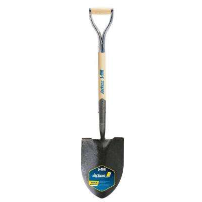 J-450 27 in. D-Handle Round Point Shovel