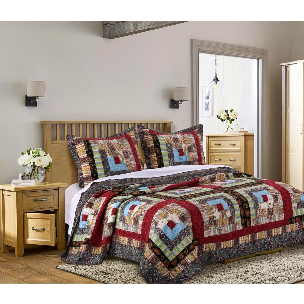 Colorado Lodge 3-Piece King Quilt Set