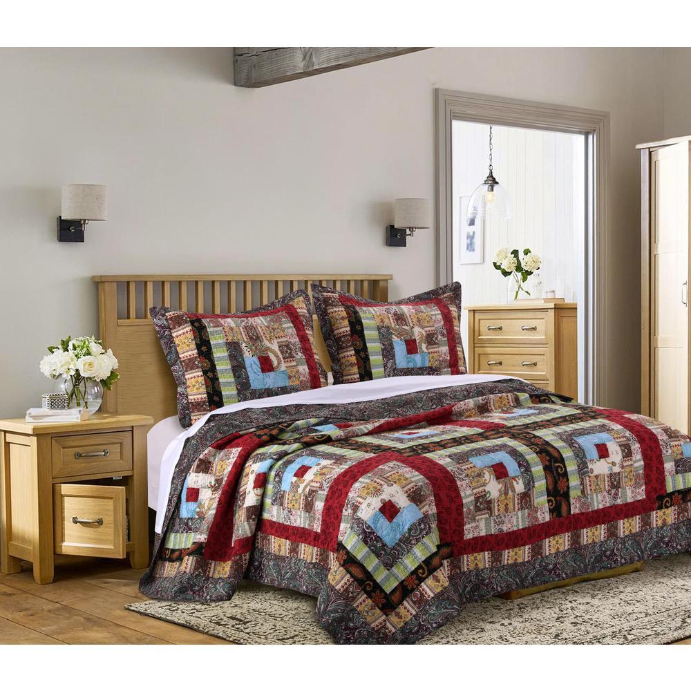 Colorado Lodge 3-Piece Full/Queen Quilt Set