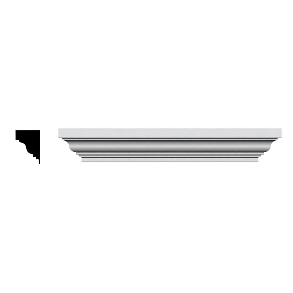 1/2 in. x 71 in. x 4-1/2 in. Polyurethane Standard Crosshead