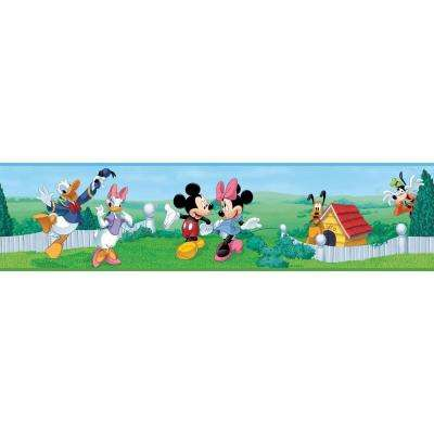 Mickey and Friends Peel and Stick Wallpaper Border