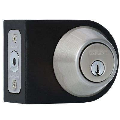 Single Cylinder Satin Nickel Deadbolt
