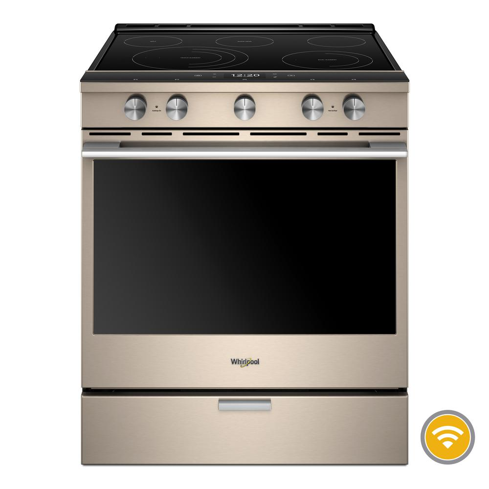 Smart Slide In Electric Range With Scan To