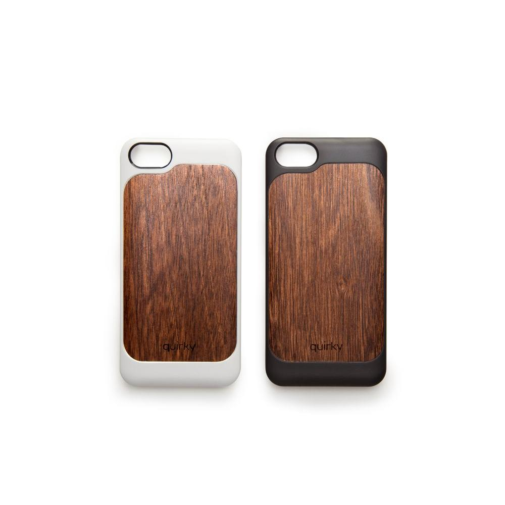 Quirky PLI iPhone 5 Case - Brown