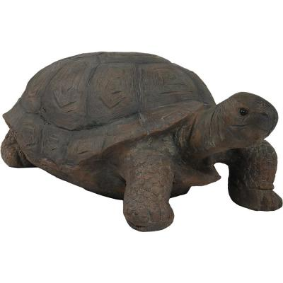 30 in. Todd the Tortoise Indoor-Outdoor Lawn and Garden Statue