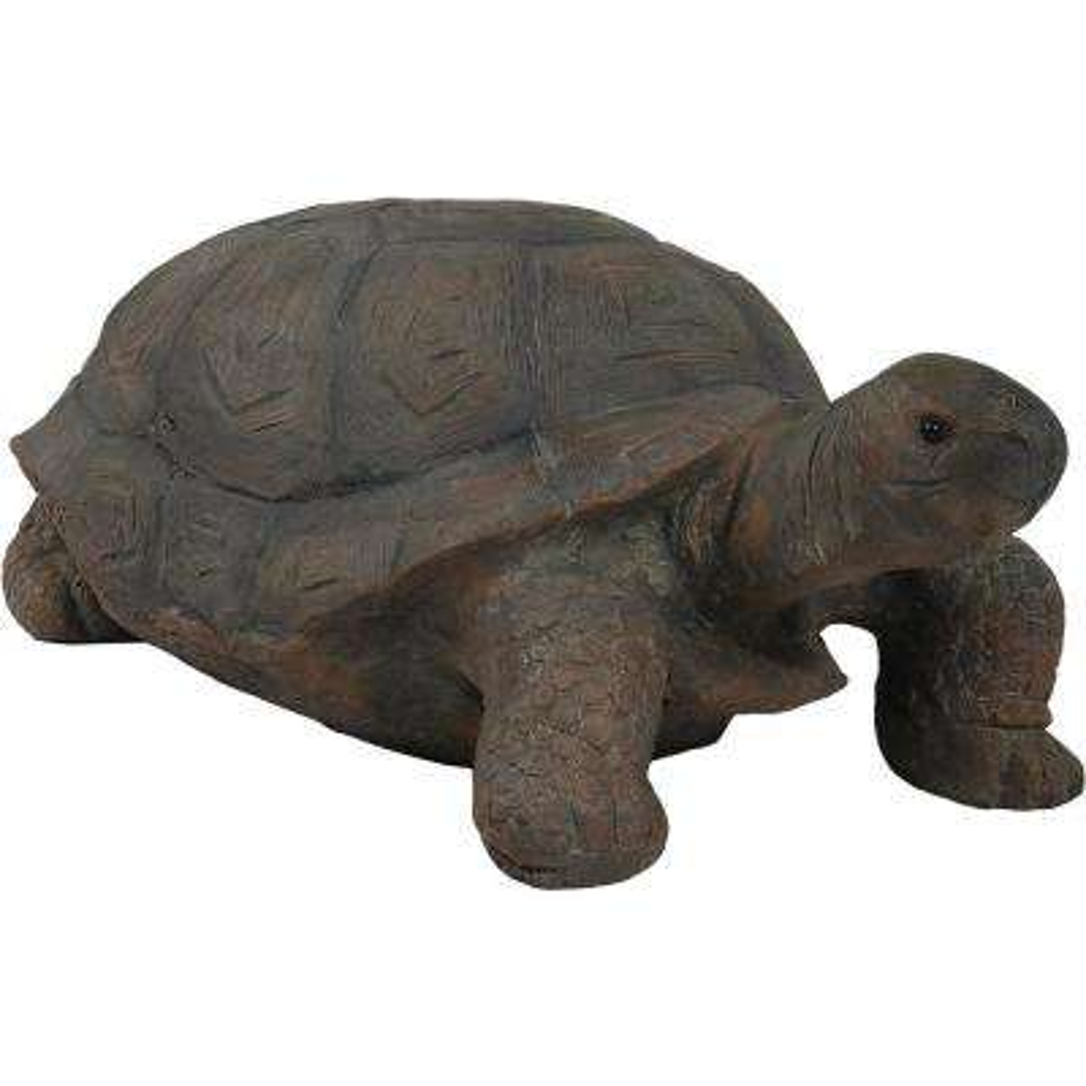 30 in. Todd the Tortoise Indoor-Outdoor Lawn and Garden Statue