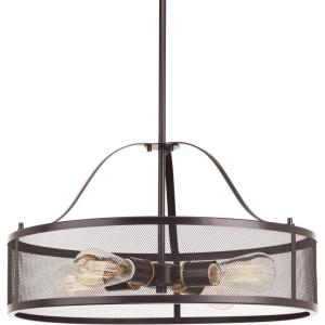 progress lighting fiorentino collection forged bronze 3 light foyer pendant. swing collection 4-light antique bronze foyer pendant · progress lighting fiorentino forged 3 light .