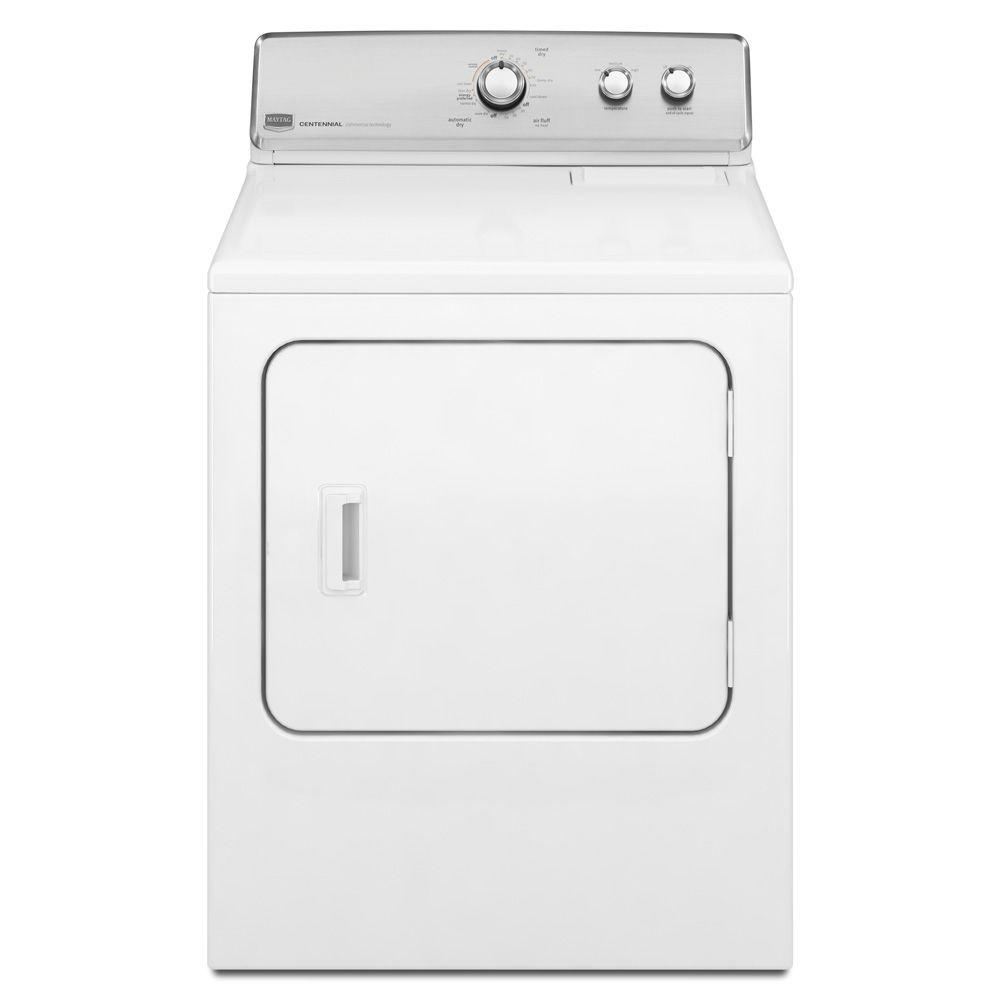Maytag Centennial 7.0 cu. ft. Gas Dryer in White