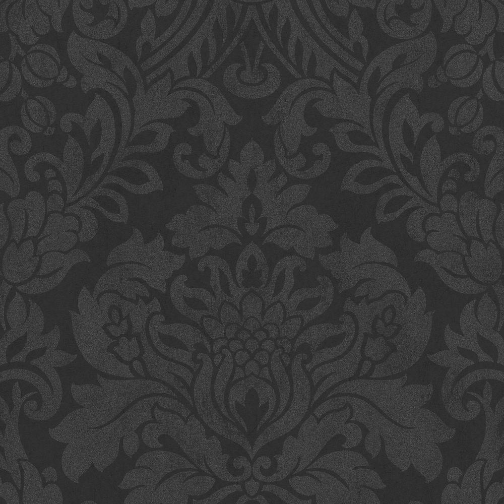 Black Wallpaper Home Decor The Home Depot