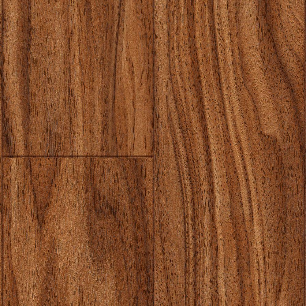 Trafficmaster kane creek walnut 12 mm thick x 4 15 16 in for Walnut laminate flooring