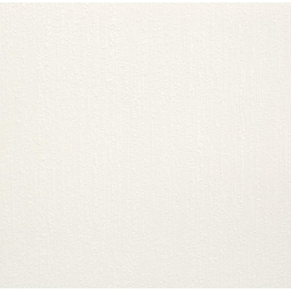 56 sq. ft. Mercer Paintable White Wallpaper
