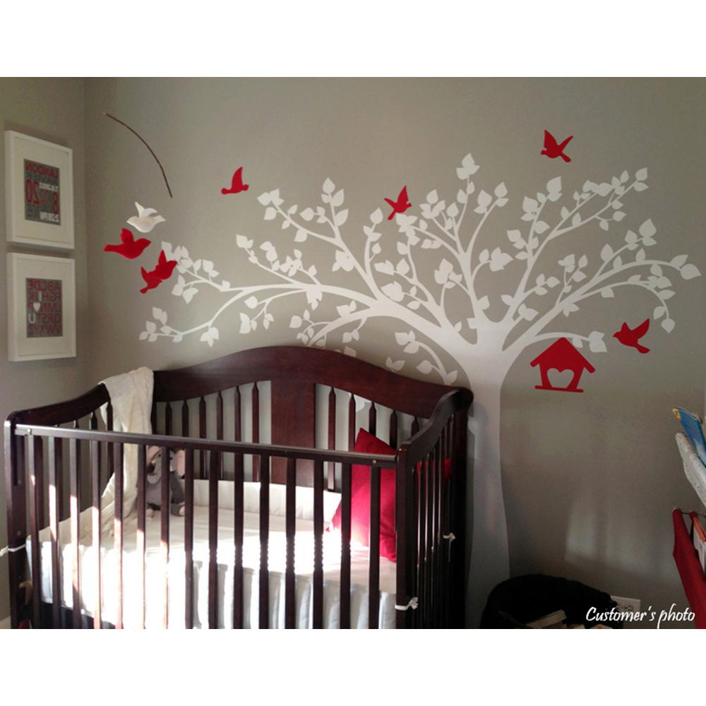 Tree With Love Birds Removable