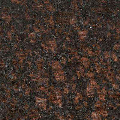 3 in. x 3 in. Granite Countertop Sample in Tan Brown