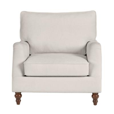 Canfield Evere Ivory Accent Chair (33.5 in. W x 33.86 in. H)