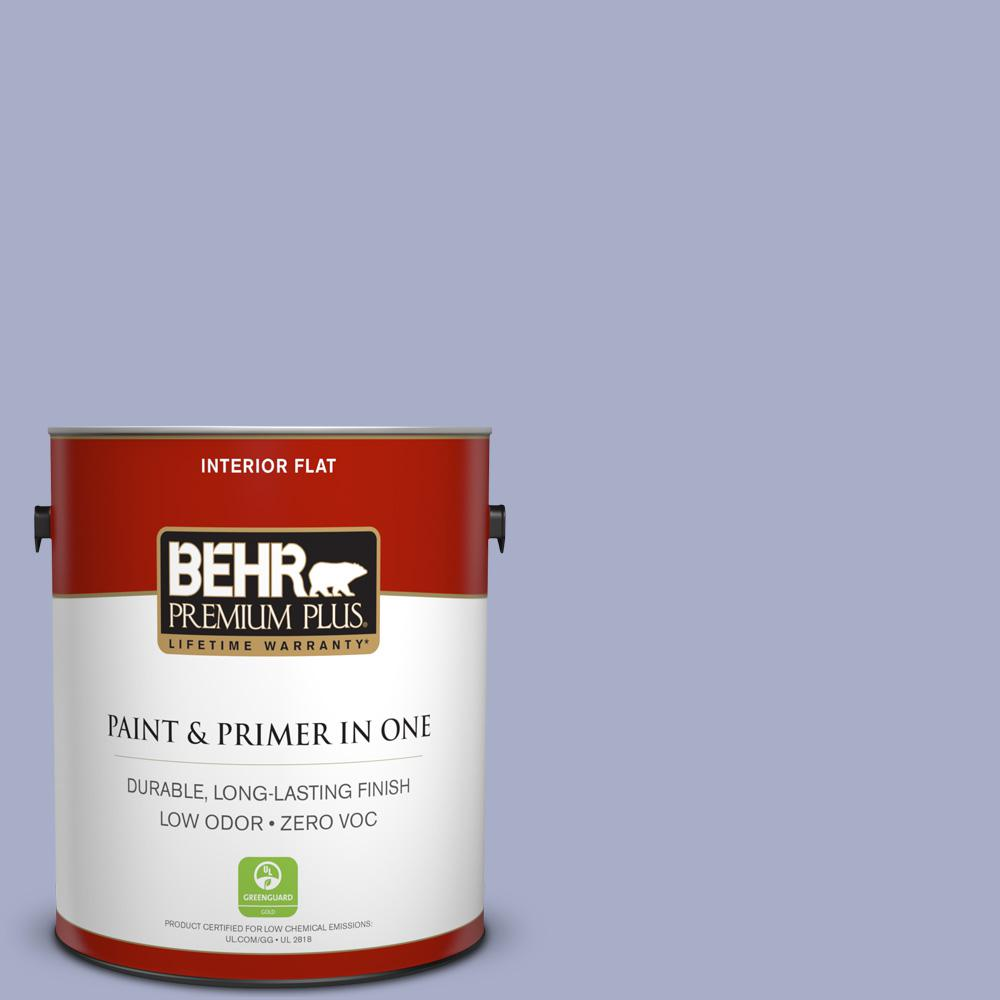 BEHR Premium Plus 1-gal. #S540-3 Meadow Phlox Flat Interior Paint