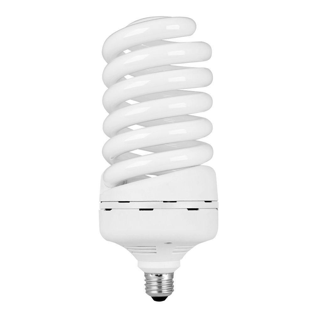 85-Watt Equivalent T5 Spiral Non-Dimmable E26 Base Compact Fluorescent CFL Light Bulb, Daylight 6500K