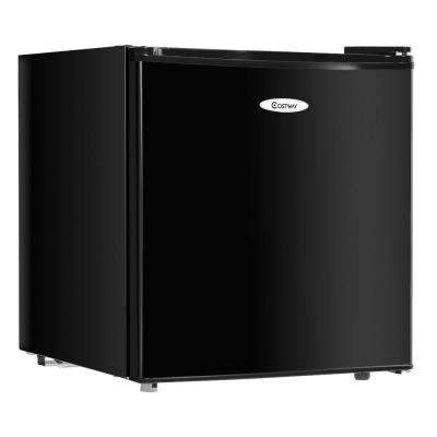Mini Refrigerator Small Freezer Cooler Fridge Compact 1.7 cu ft. Unit Black