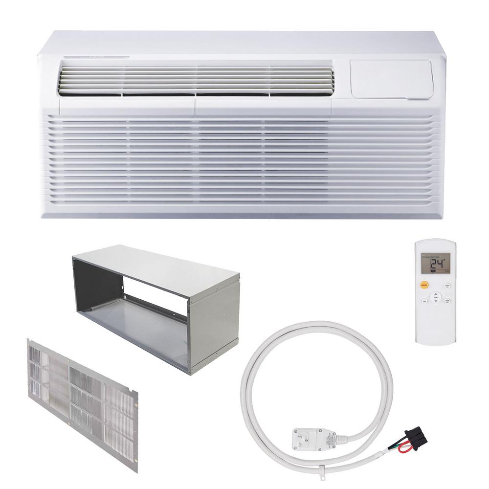 Ramsond Packaged Terminal Air Conditioning 12,000 BTU (1 Ton) + 5 kW Electrical Heater