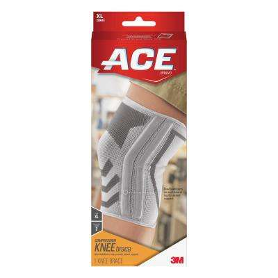 Extra-Large Compression Elbow Support Brace in White