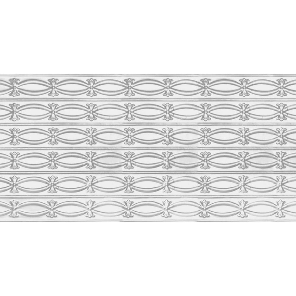 Shanko 2 ft. x 4 ft. Nail-up/Direct Application Tin Ceiling Tile in ...