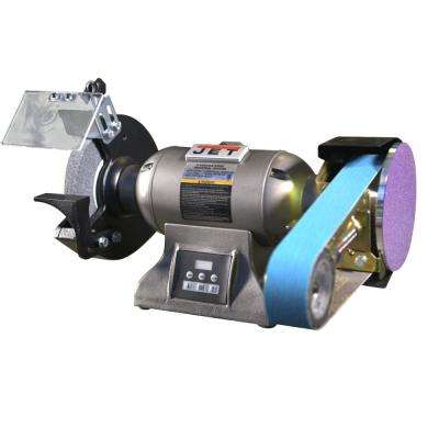 IBGM-8VS, 8 in. Variable Speed Industrial Grinder with Multitool Attachment