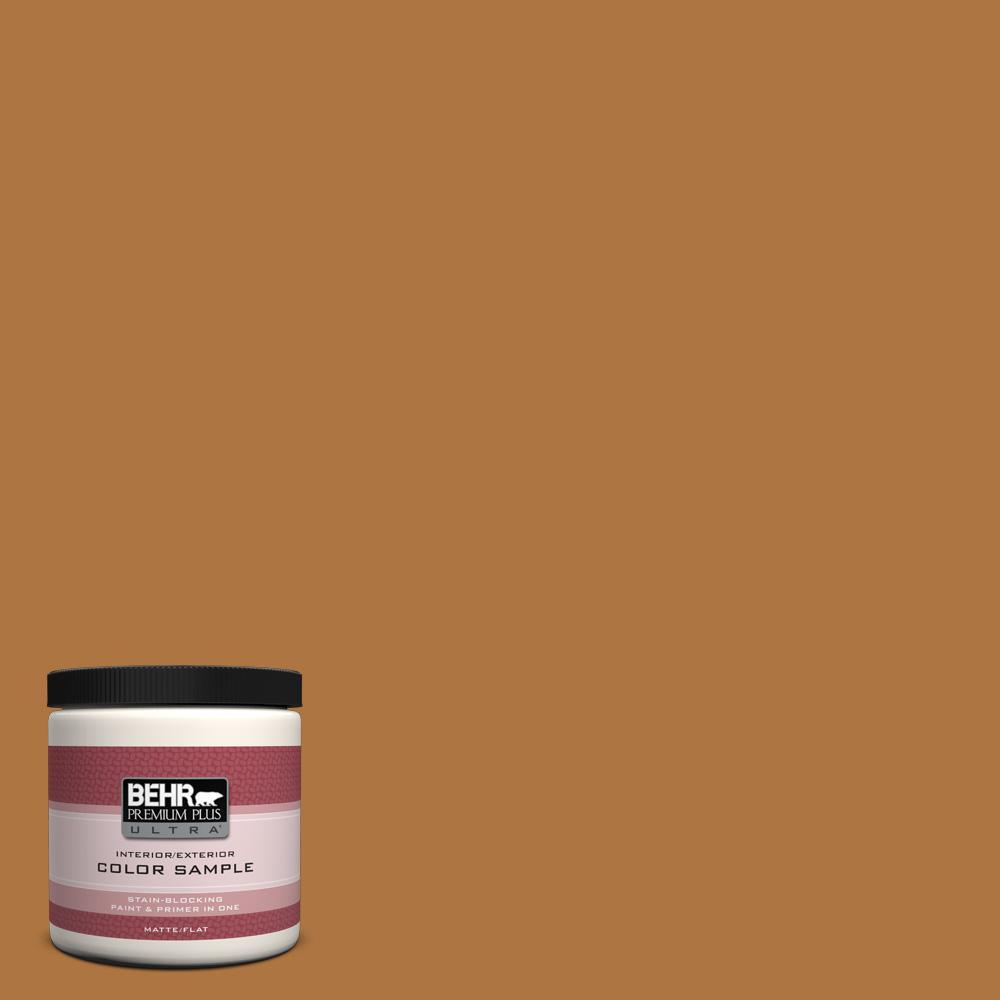 8 oz. #M250-7 Blonde Wood Interior/Exterior Paint Sample