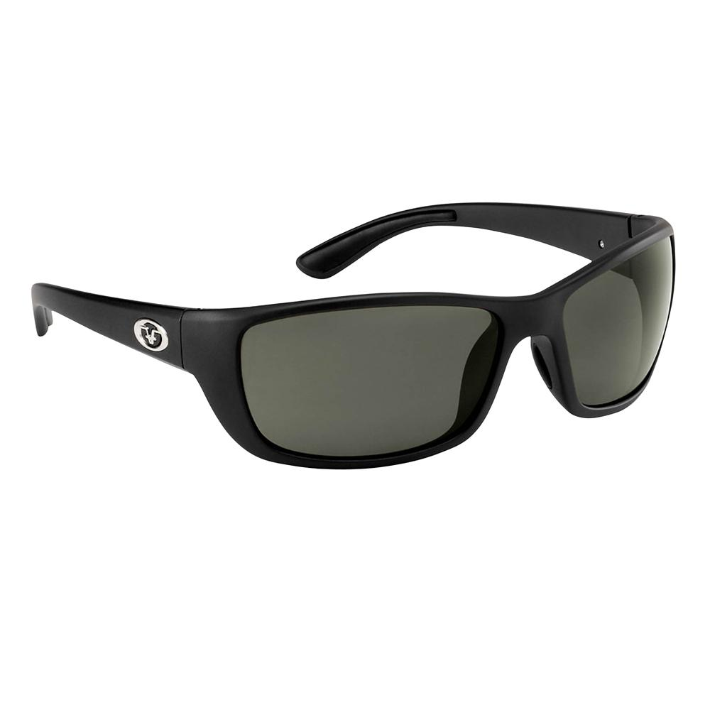 Cay Sal Polarized Sunglasses Matte Black with Smoke Lens