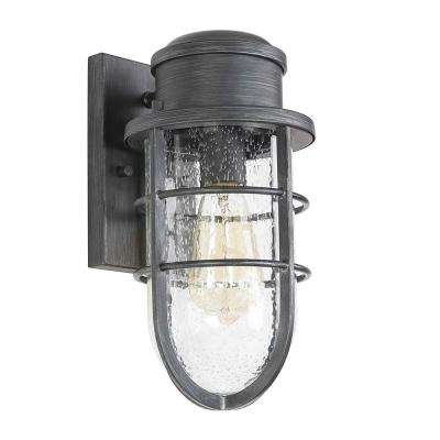 Braemore 1-Light Oil Rubbed Bronze Outdoor Wall Mount Lantern
