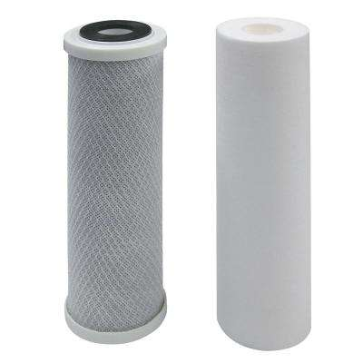 Carbon Block and Sediment Replacement Filters for Reverse Osmosis Water Filtration System VRO-4