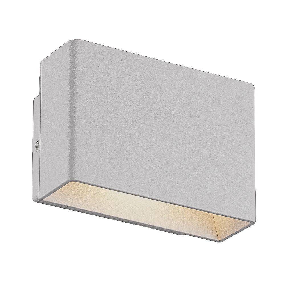 Vello Collection 1-Light Marine Grey Outdoor Wall Lantern Sconce