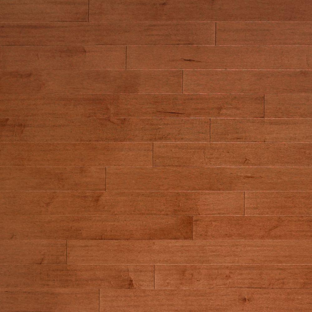 Heritage mill scraped vintage maple velvet 3 8 in x 4 3 4 for Click hardwood flooring