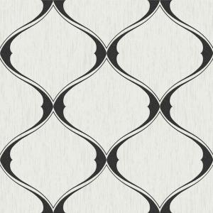 Graham & Brown Black and White Olympus Wallpaper by Graham & Brown