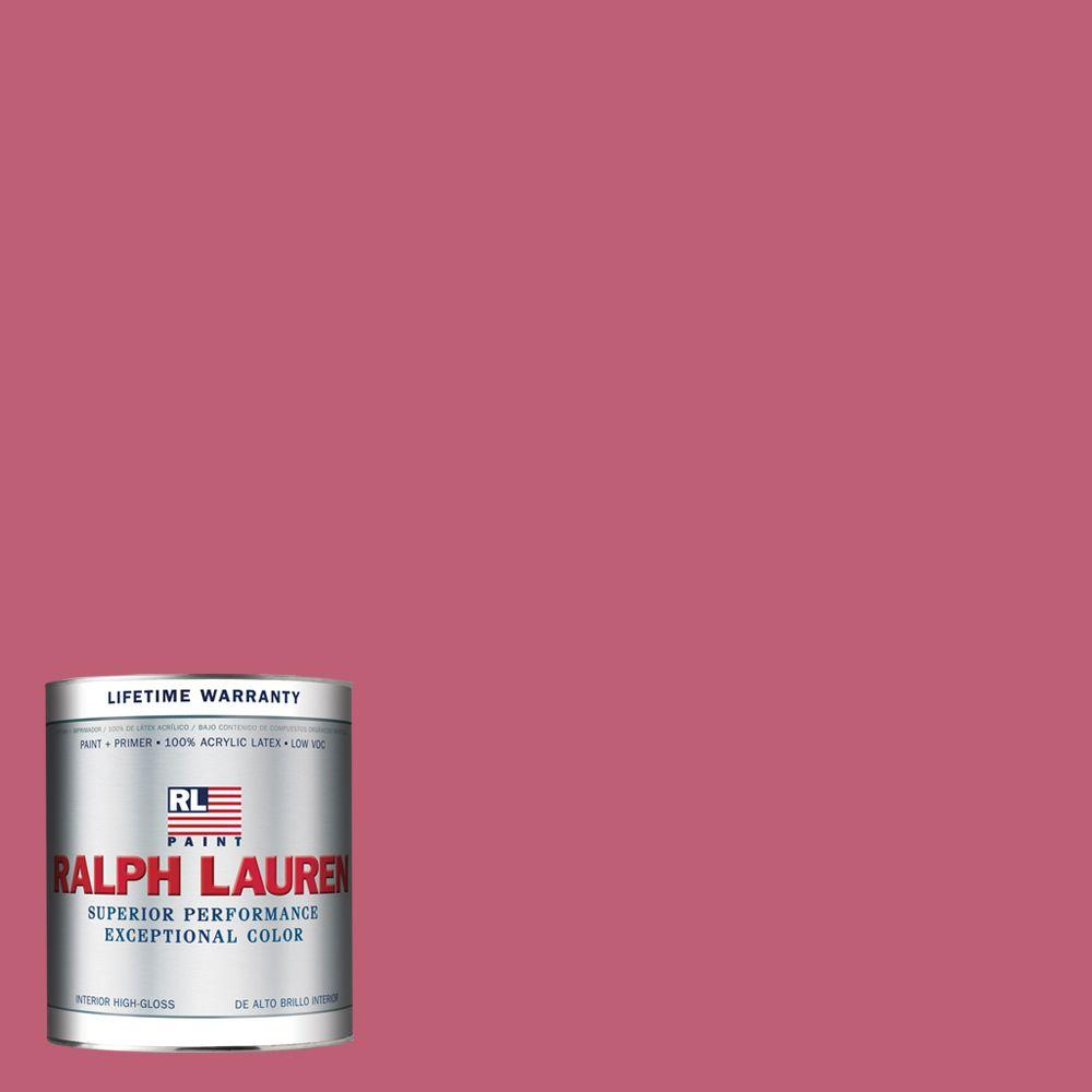 Ralph Lauren 1-qt. Colonial Pink Hi-Gloss Interior Paint