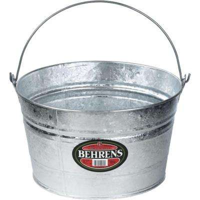 4.25 Gal. Hot Dipped Steel Pail