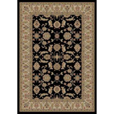 Jewel Antep Black 7 ft. 10 in. x 9 ft. 10 in. Area Rug