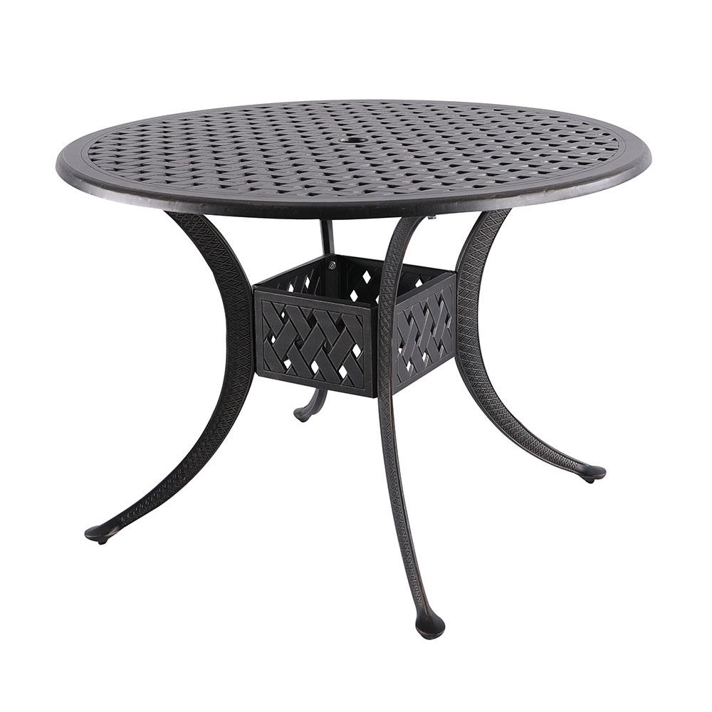 Nuu Garden Dionysus Aluminum Outdoor Dining Table With Extension