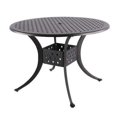 Dionysus Aluminum Outdoor Dining Table with Extension