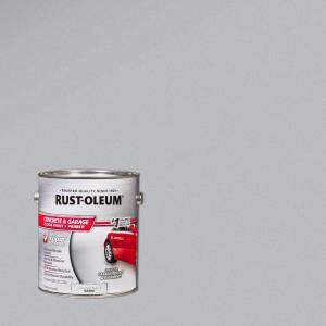 Rust Oleum 1 Gal Armor Gray Satin Concrete Floor Paint 2