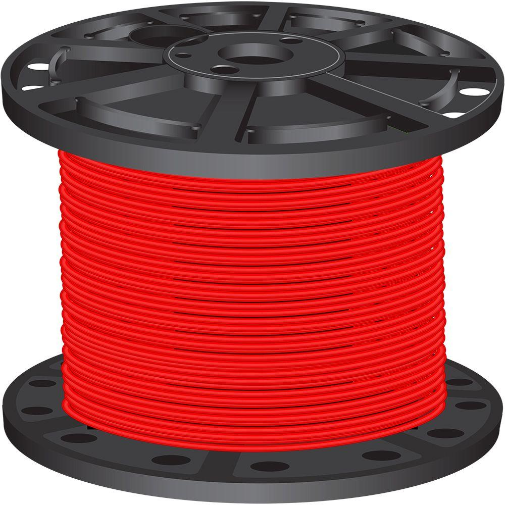 southwire 500 ft 10 red stranded cu xhhw wire 37113803 the home depot