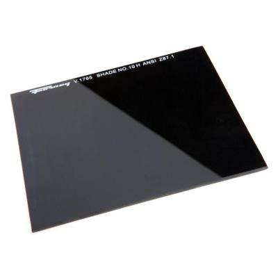 4-1/2 in. x 5-1/4 in. #10 Shade Hardened Glass Replacement Lens