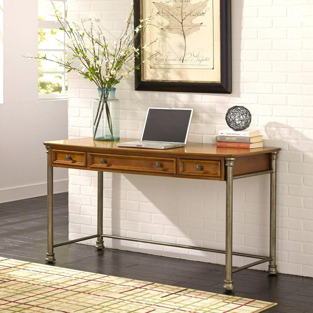 Home Styles The Orleans Vintage Caramel Desk