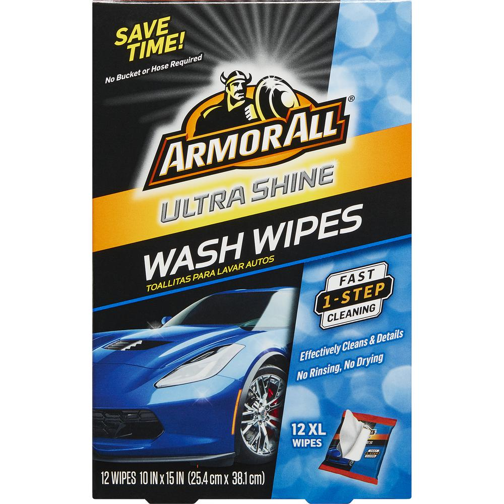 Ultra-Shine Wash Wipes (12-Count)