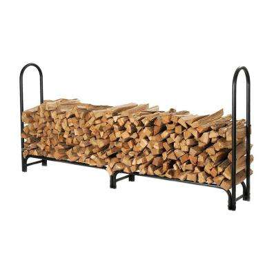 96 in. Tubular Steel Firewood Storage Log Rack