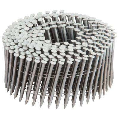 2-3/16 in. x 0.092-Gauge Wire Stainless-Steel Round Head Finishing Nails (1,200 per Box)