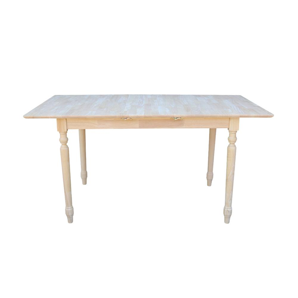 International Concepts Unfinished Dining Table K T32x 330t Kitchen This Turned Leg Table Makes A Great Dining Table T