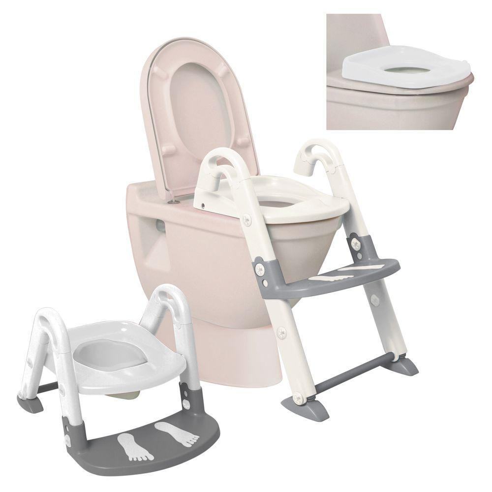 Dream Baby 3-in-1 Toilet Trainer, White & Gray
