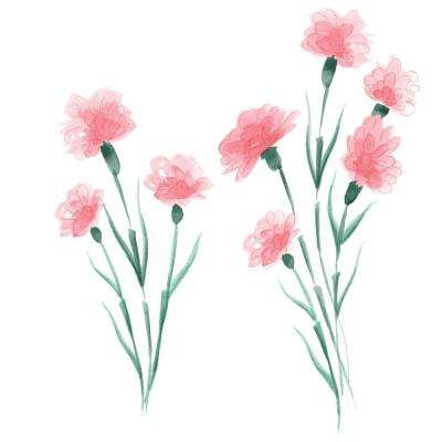 Pink What in Carnation! Wall Decal